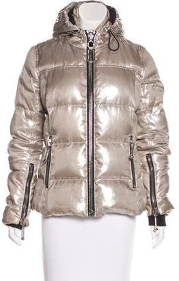 Philipp Plein Metallic Down Coat