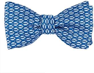 Penrose London Men's Silk Jacquard Bow Tie