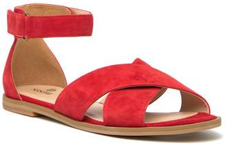 Susina Leia Suede Ankle Strap Sandal