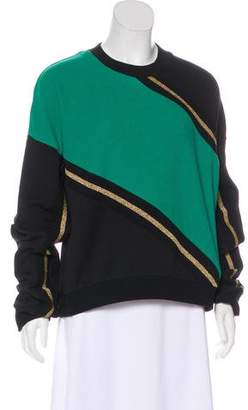 P.E Nation Metallic Colorblock Sweatshirt