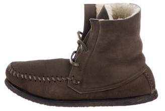 2ad296c4c3 Etoile Isabel Marant Suede Mocassin Boots