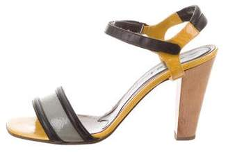 Marni High-Heel Ankle Strap Sandals