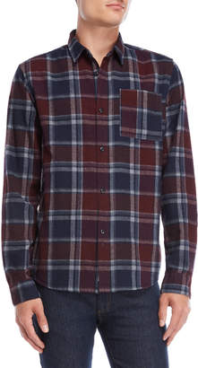 Bellfield Lockhart Overdye Check Shirt