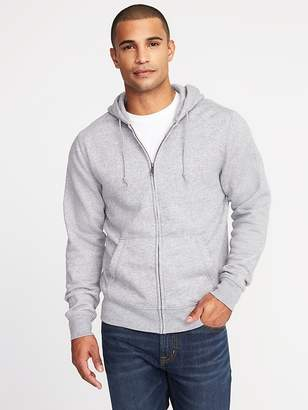 Old Navy Heathered Zip-Front Hoodie for Men