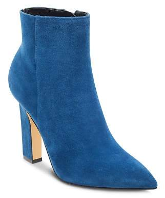 Marc Fisher Mayae Suede Pointed Toe High-Heel Booties - 100% Exclusive