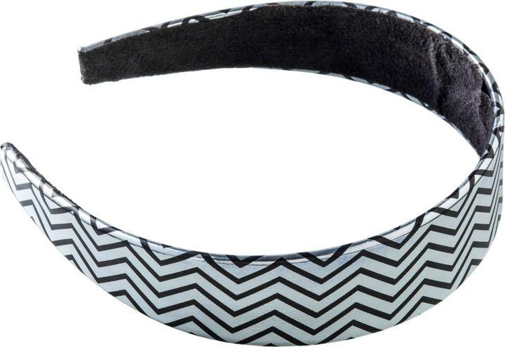Ulta Metallic Black Geometric Headband