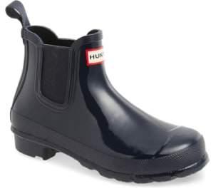 Hunter 'Original Gloss' Waterproof Chelsea Boot
