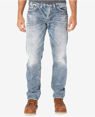 Silver Jeans Co. Men Eddie Relaxed Fit Tapered Jeans