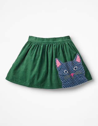 Boden Animal Applique Skirt