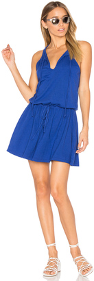 Michael Stars Tied Mini Dress $88 thestylecure.com