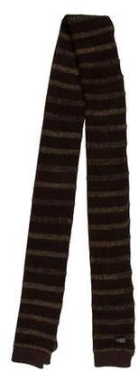 John Varvatos Striped Knit Scarf