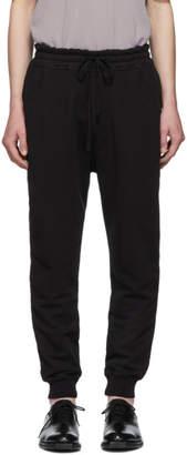 Haider Ackermann Black Perth Jogger Lounge Pants