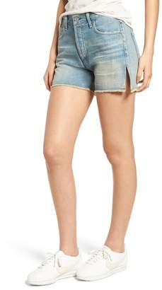 Citizens of Humanity Corey Distressed Slouchy Denim Shorts (Arleta)