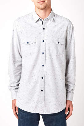 Civil Society Popcorn Stitch Long Sleeve Button Down Shirt