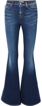 L'Agence The Solana High-rise Flared Jeans - Mid denim