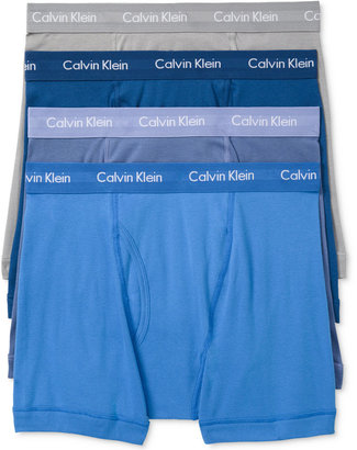 Calvin Klein 3-Pack Classic Boxer Briefs +1 Bonus Pair, Only at Macy's NB1175 $42.50 thestylecure.com
