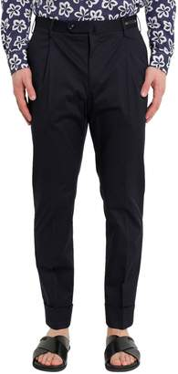 Pt01 Cuffed Straight Trousers