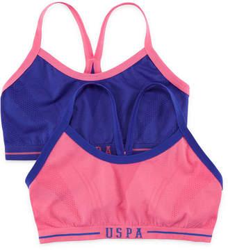 U.S. Polo Assn. Sports Bra Girls