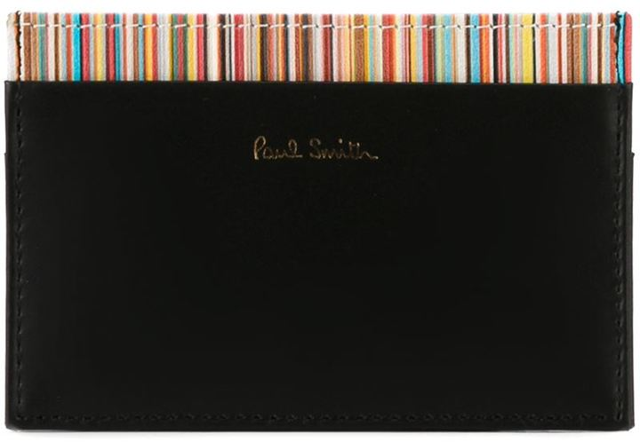 Paul Smith Paul Smith striped cardholder