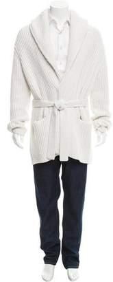 Dolce & Gabbana Cashmere Rib Knit Cardigan w/ Tags