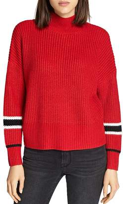 Sanctuary Speedway Stripe Sleeve Sweater