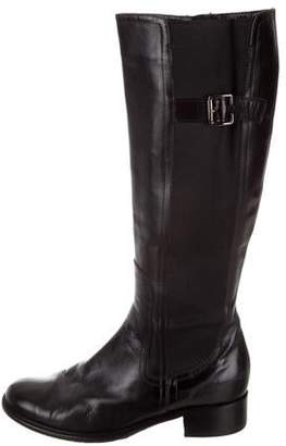 Bruno Magli Leather Knee-High Boots