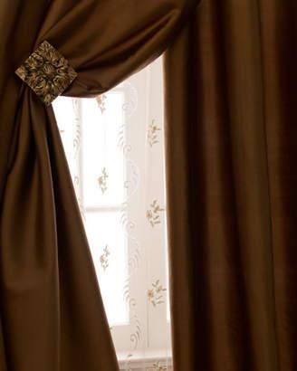 Amity Home Radiance Silk Curtain, 108"L