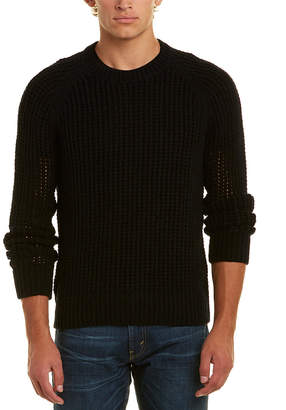 Vince Open Weave Crew Sweater