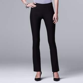 Vera Wang Women's Simply Vera Pull-On Bootcut Pants