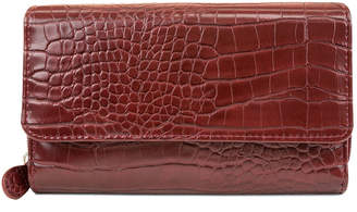 Mundi Croc Big Fat Wallet