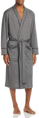Daniel Buchler Contrast-Piped Cotton Robe