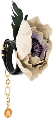 Sonia Rykiel floral appliqué bracelet