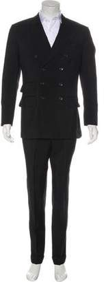 Tom Ford Double-Breasted Mohair & Cashmere Suit