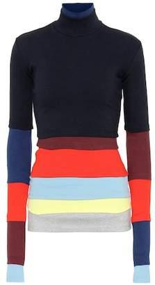Y/Project Cotton-blend turtleneck sweater