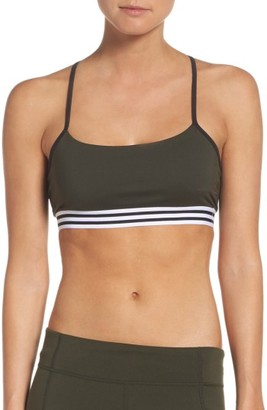 Women's Adidas Badge Of Sport Sports Bra $25 thestylecure.com