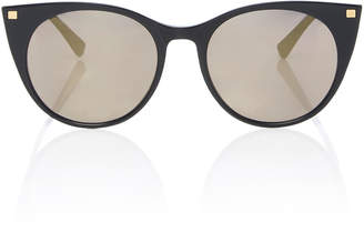 Mykita Desna Gold-Tone and Acetate Round-Frame Sunglasses