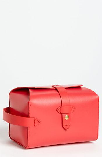 IIIBeCa by Joy Gryson 'Beach Street' Cosmetics Case Red Cayenne One Size
