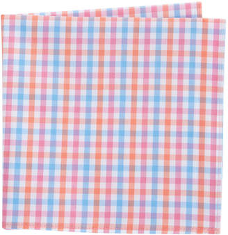 Vineyard Vines Albert Lake Gingham Pocket Square