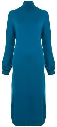 Tibi tie back knit long dress