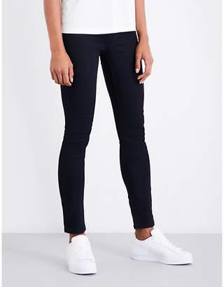 Claudie Pierlot Bead-embellished skinny high-rise jeans