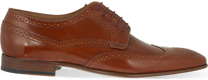 Paul SmithPaul Smith Aldrich leather Derby shoes