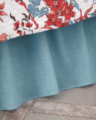 C & F Enterprises Aegean Grid Bed Skirt, King