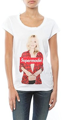 "Eleven Paris Women's Supermodel ""Kate Moss"" Short Sleeve Tee $15 thestylecure.com"