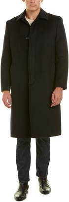 Hart Schaffner Marx Stanley Wool & Cashmere-Blend Coat