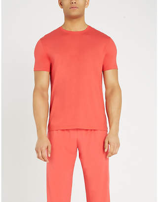 Derek Rose Basel slim-fit crew-neck jersey T-shirt