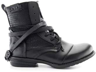 Bunker Kol Leather Ankle Boots
