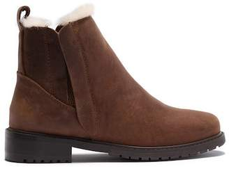 Emu Pioneer Wool Lined Leather Boot