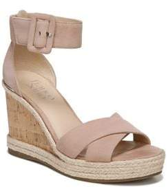 Franco Sarto Quintana Suede or Leather Sandals