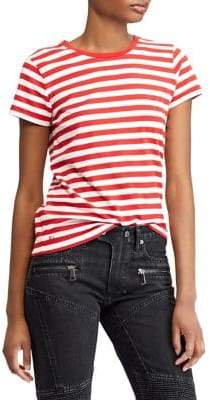 Polo Ralph Lauren Striped Cotton Jersey Tee