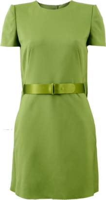 Alexander McQueen Capelet Dress